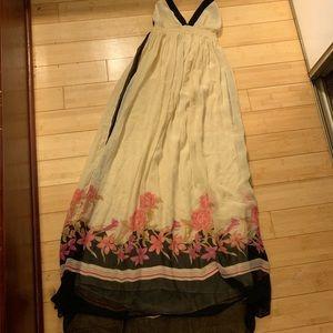 Adjustable top maxi dress